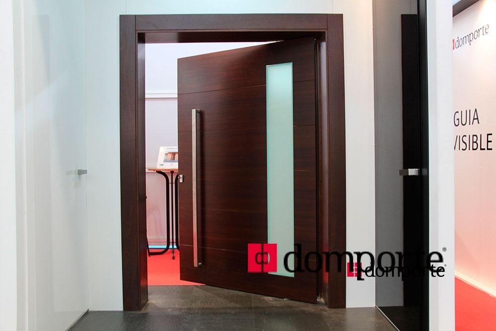 Premio a la puerta m s innovadora en maderalia 2014 domporte - Puertas correderas externas ...
