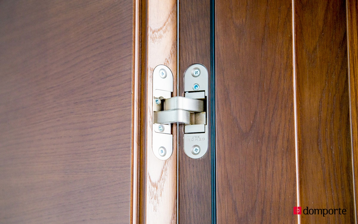 Bisagras ocultas para puertas de madera pernios y - Bisagras para madera ...