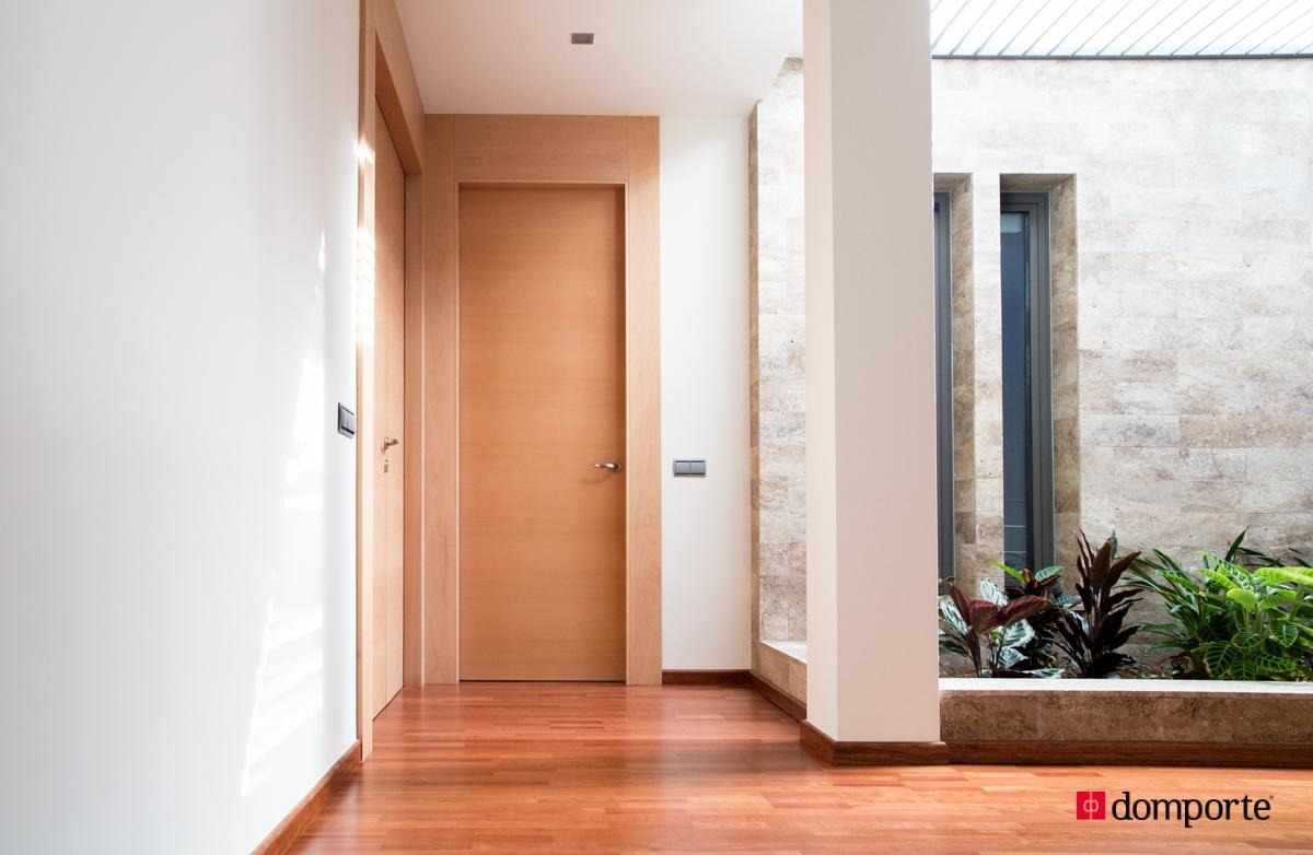 Puertas de paso en madera domporte Precio puertas de paso