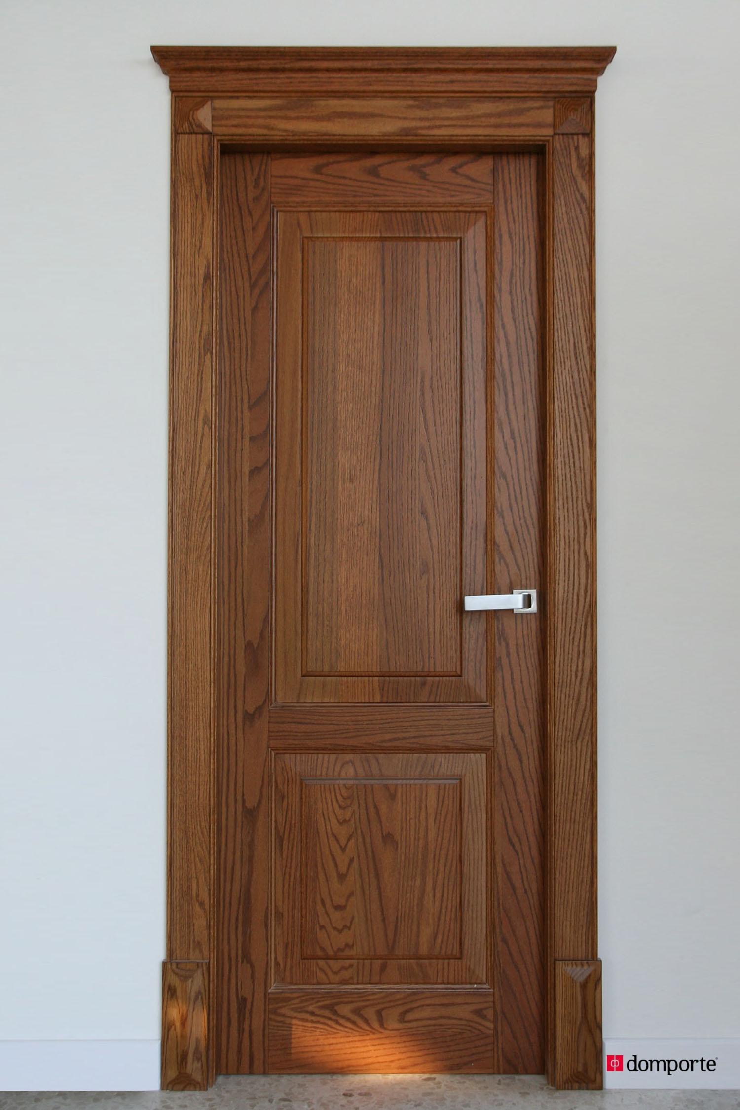 Puertas de madera domporte for Cambiar puertas interiores