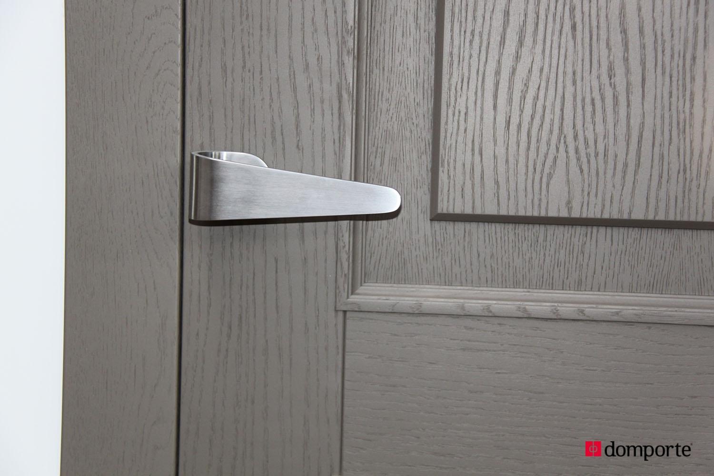 Puertas de paso lacadas trendy puerta lacada negra with - Puertas de paso lacadas en blanco ...